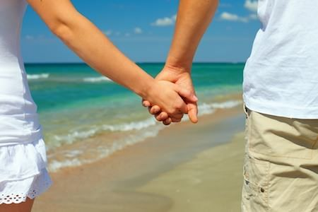 vacation concept, holiday romance